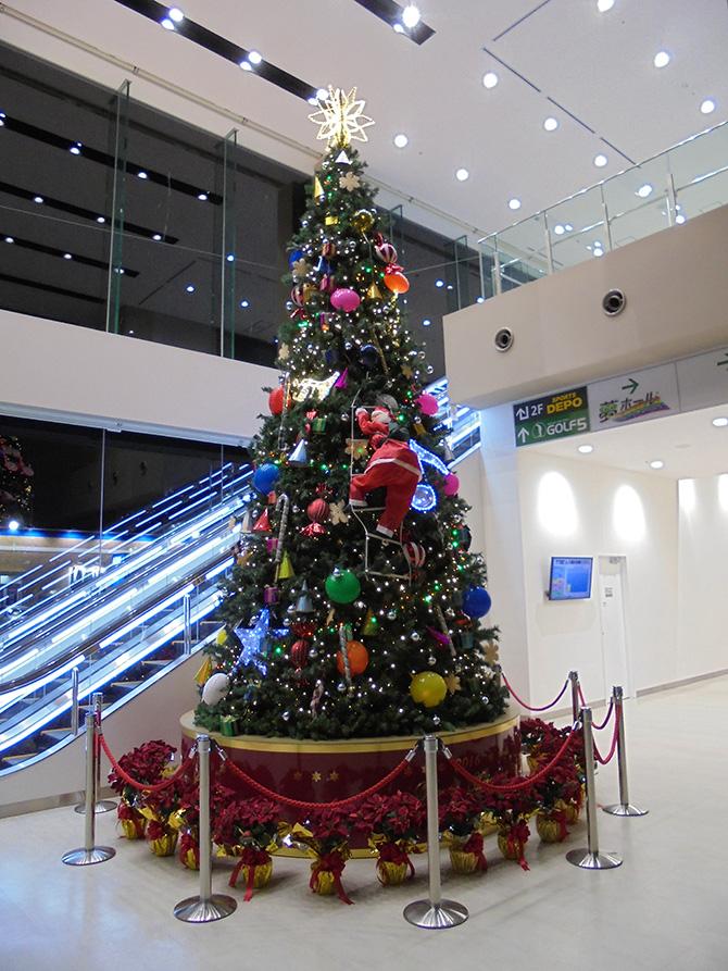 夢ホールクリスマスツリー